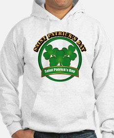 Saint Patrick's Day with text Hoodie