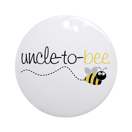 uncle to bee Ornament (Round)