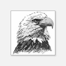"""American Eagle Square Sticker 3"""" X 3"""""""