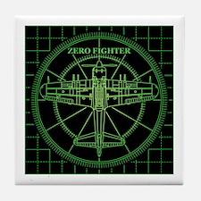 ZEROFIGHTER RADER Tile Coaster