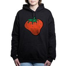 Cute Strawberry Hooded Sweatshirt