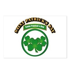 Saint Patrick's Day with Postcards (Package of 8)