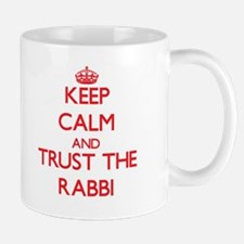Keep Calm and Trust the Rabbi Mugs