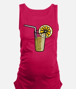 Lemonade Glass Maternity Tank Top