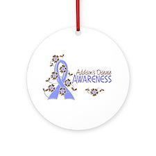 Awareness 6 Addison's Ornament (Round)