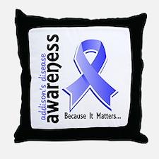 Awareness 5 Addisons Throw Pillow