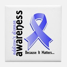 Awareness 5 Addisons Tile Coaster