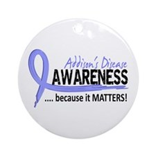 Awareness 2 Addison's Ornament (Round)