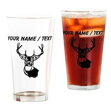 Custom Buck Head Drinking Glass