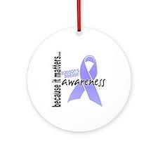 Awareness 1 Addison's Ornament (Round)