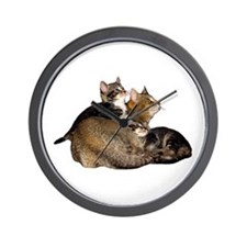"""Cat 4"" Wall Clock"