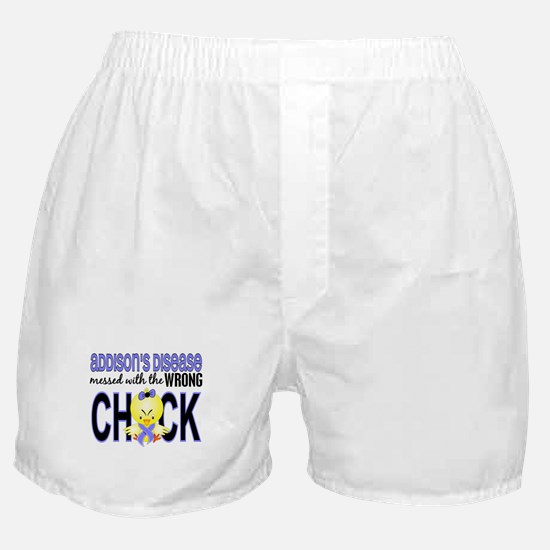 Messed With Wrong Chick Addisons Boxer Shorts