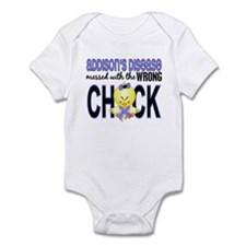 Messed With Wrong Chick Addisons Infant Bodysuit