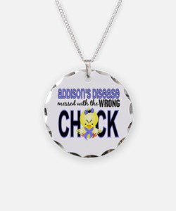 Messed With Wrong Chick Addi Necklace