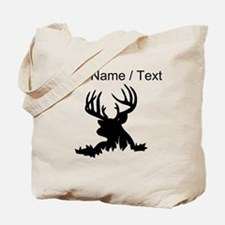 Custom 12 Point Buck Tote Bag