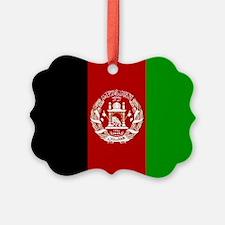 Afghanistan Flag Ornament