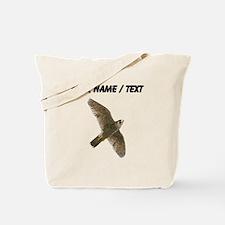 Custom Peregrine Falcon Tote Bag