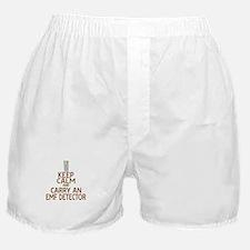 Keep Calm Carry EMF Boxer Shorts
