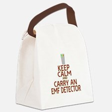 Keep Calm Carry EMF Canvas Lunch Bag