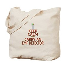 Keep Calm Carry EMF Tote Bag
