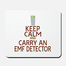 Keep Calm Carry EMF Mousepad