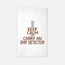 Keep Calm Carry EMF 3'x5' Area Rug