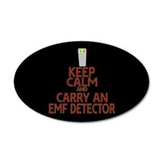 Keep Calm Carry EMF Wall Decal