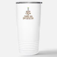 Keep Calm Carry EMF Travel Mug