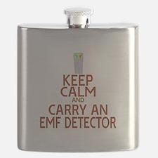 Keep Calm Carry EMF Flask