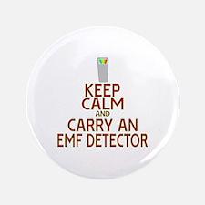 "Keep Calm Carry EMF 3.5"" Button"