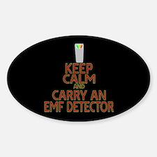 Keep Calm Carry EMF Decal