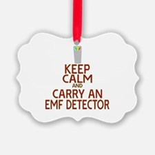 Keep Calm Carry EMF Ornament