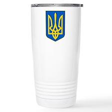 Ukrainian Coat of Arms Travel Mug
