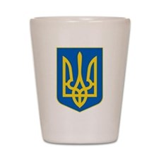 Ukrainian Coat of Arms Shot Glass