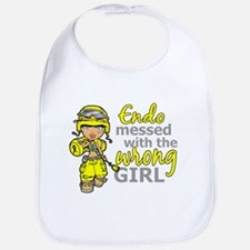 Combat Girl Endometriosis Bib