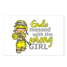 Combat Girl Endometriosis Postcards (Package of 8)