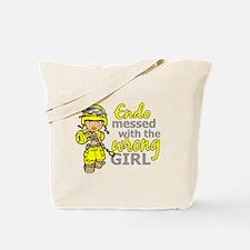Combat Girl Endometriosis Tote Bag