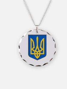 Ukrainian Coat of Arms Necklace