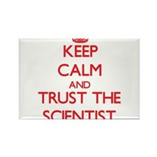 Keep Calm and Trust the Scientist Magnets