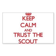 Keep Calm and Trust the Scout Decal