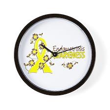 Awareness 6 Endometriosis Wall Clock