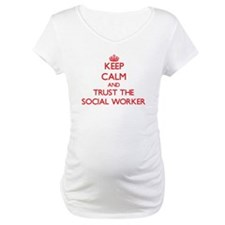 Keep Calm and Trust the Social Worker Shirt