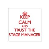 Stage manager Stickers & Flair