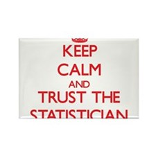 Keep Calm and Trust the Statistician Magnets