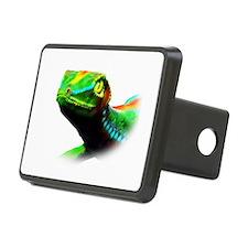 Gecko Lizard Close up 3d digital Art Hitch Cover