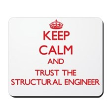 Keep Calm and Trust the Structural Engineer Mousep