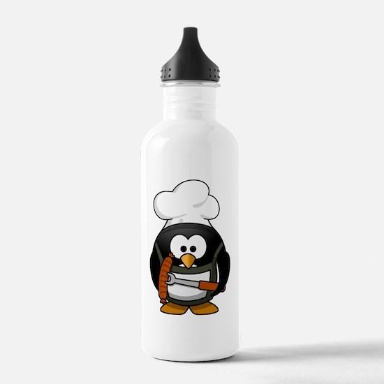 Penguin-Cartoon 017 Water Bottle
