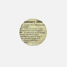 January 28th Mini Button