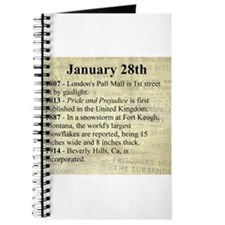 January 28th Journal