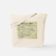 January 28th Tote Bag